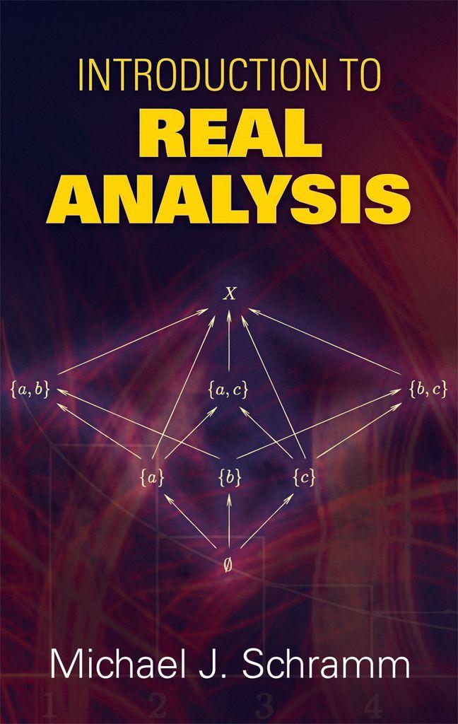 Introduction to Real Analysis | Mathematics | Math books