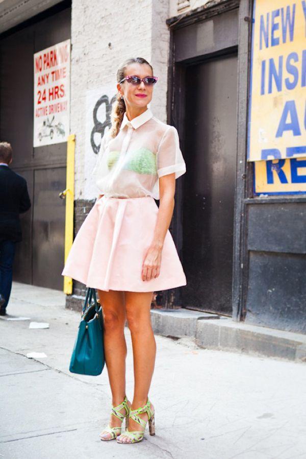 http://www.whowhatwear.com/blog/2012/09/nyfw-street-style-sheer-delights-natalie-joos/nyfw-street-style-natalie-joos-sheer-delights-sheer-top-full-pink-skirt-prada-bag-neon-lined-sandals-bandeau-top-bra-pink-embellished-sunglasses-red-lips/