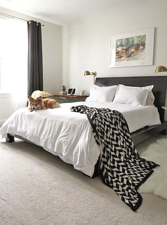 the bye bye blank slate bedroom makeover makeovers bedroom decorating project - Slate Bedroom Decorating