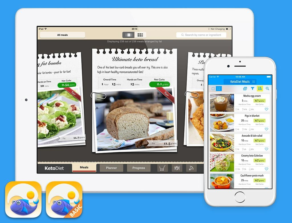 The ultimate lowcarb diet apps for the iPad, iPhone