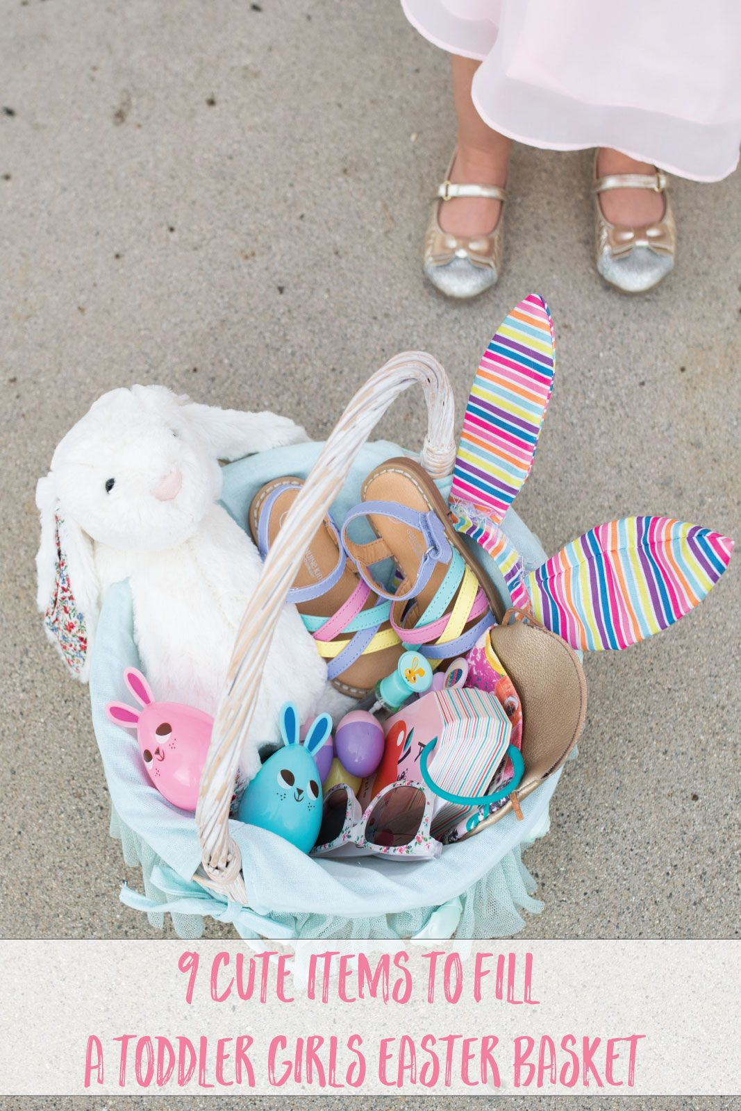 9 ideas for toddler girls easter basket easter baskets la mode 9 cute items to fill your toddler girls easter basket by lifestyle blogger sandy a la mode negle Images