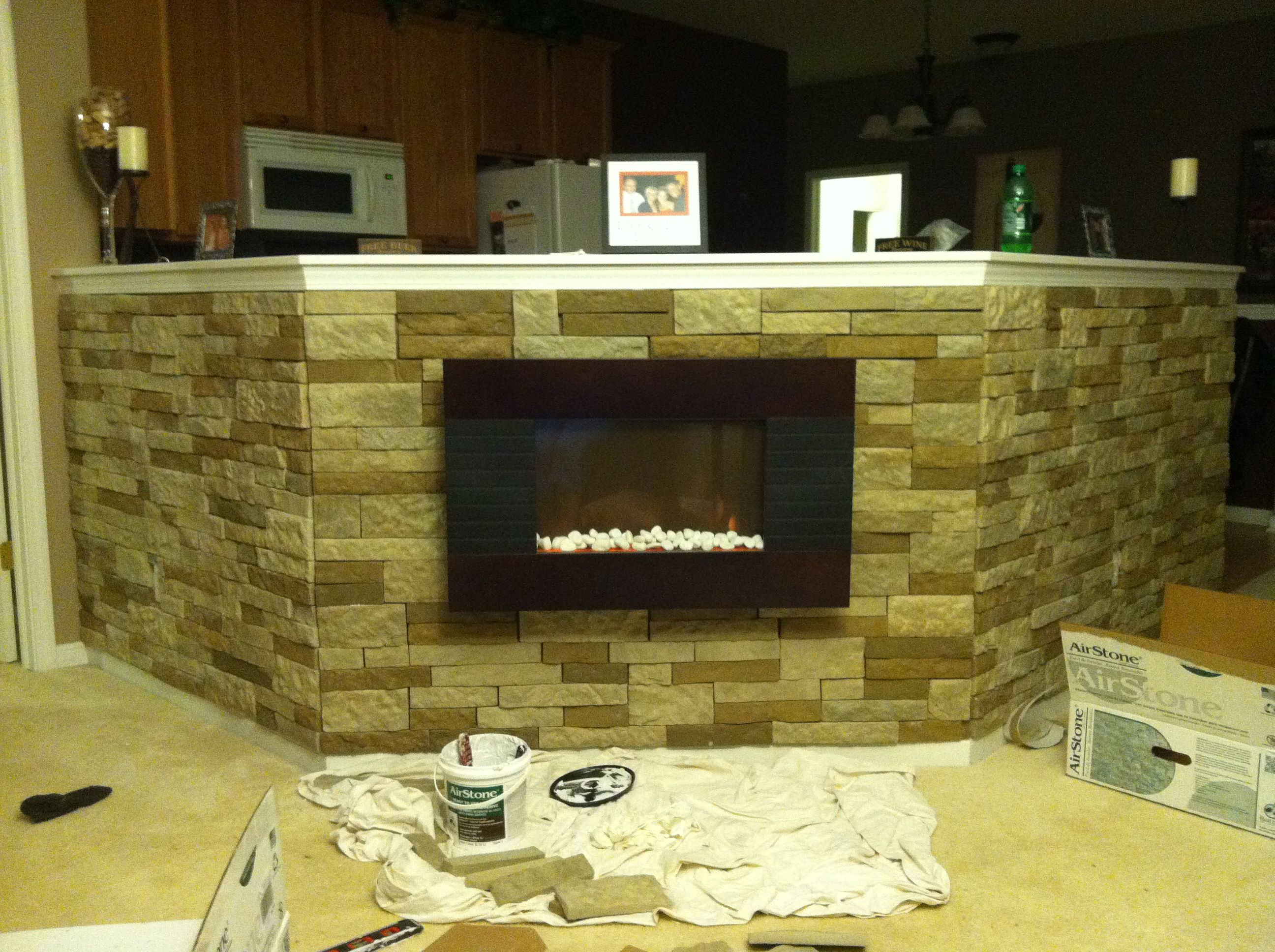 Proof tht pinterest ideas work!!!! DIY air stone project from lowes ...