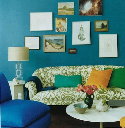 Wall Decor · Benjamin Moore Salzburg Blue Part 55