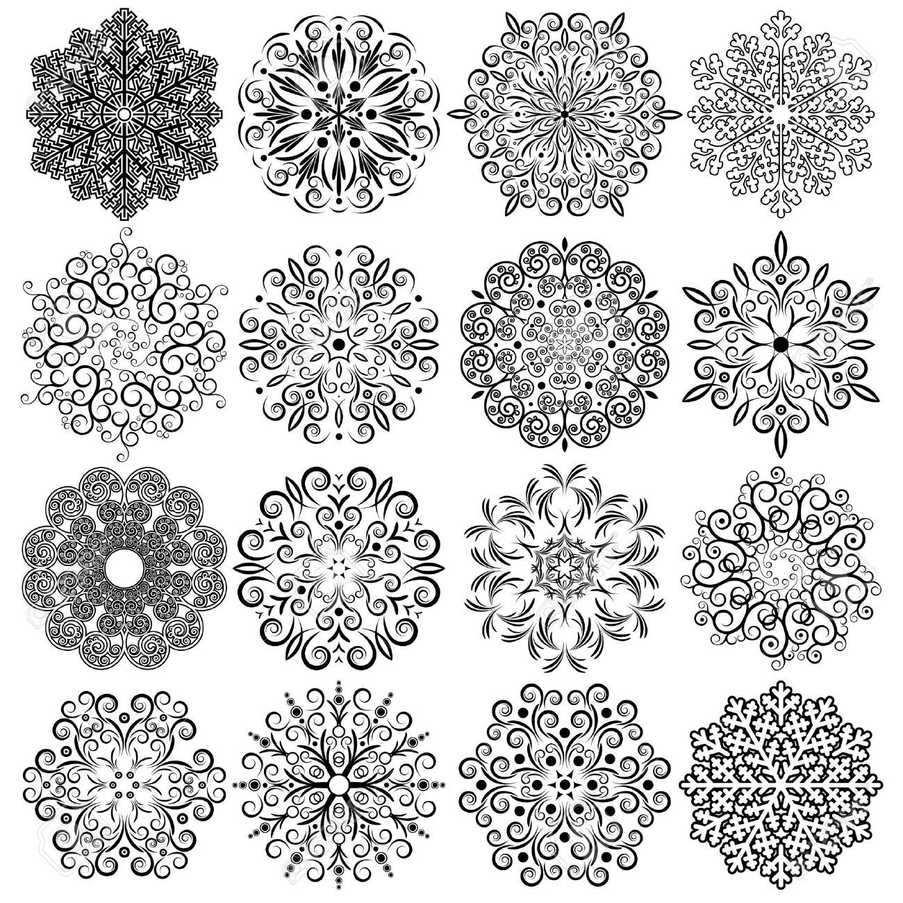 Image result for free vector christmas Mandala painting