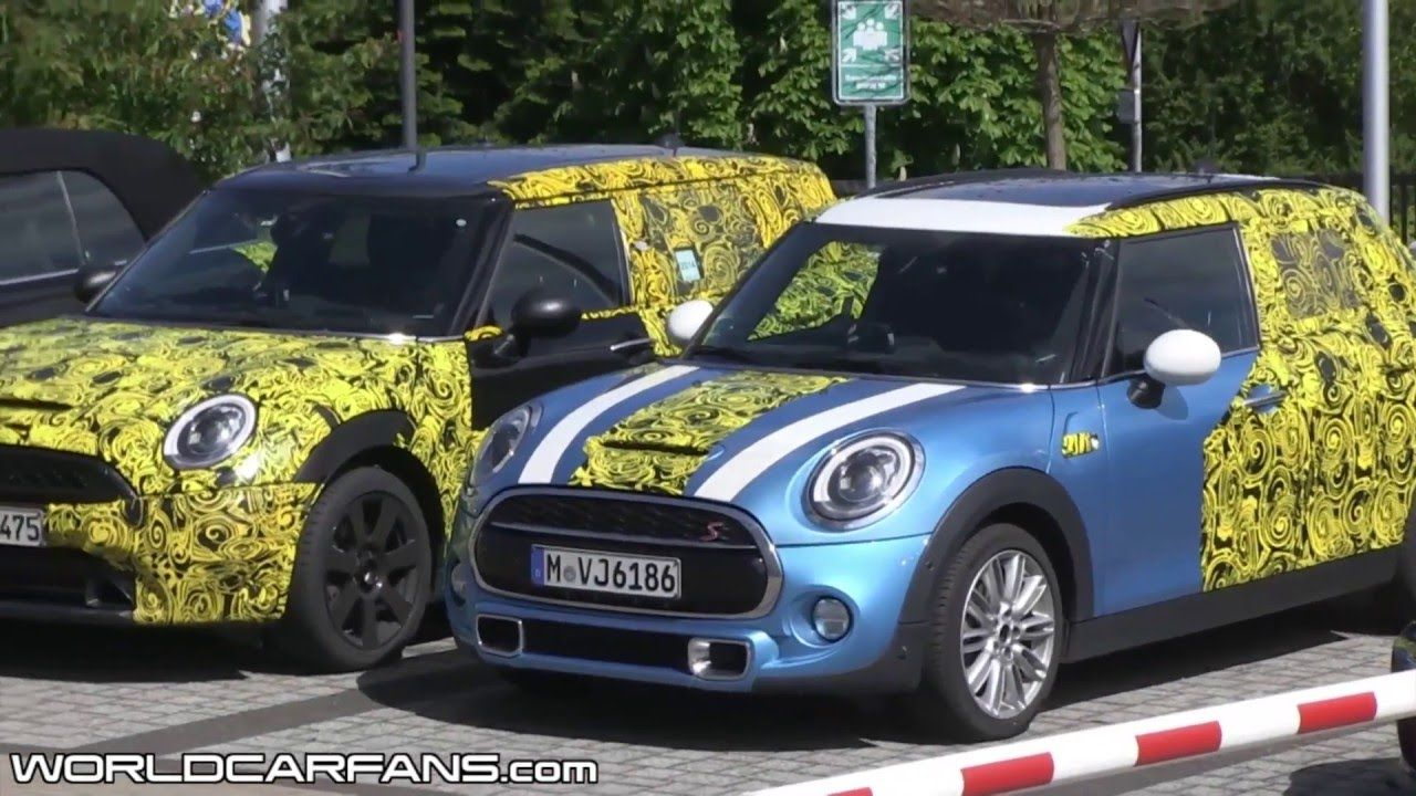 2015 MINI Cooper S 5 door spied