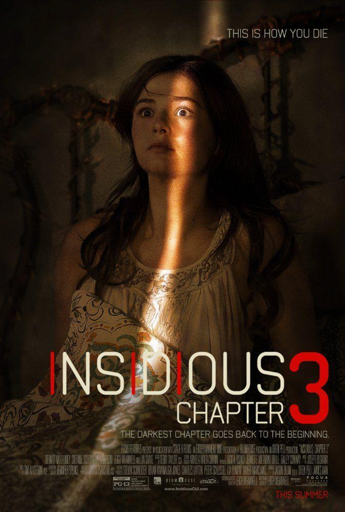 Insidious Chapter 3 2015 Filmes Sobrenaturais Melhores Filmes De Terror Posteres De Filmes