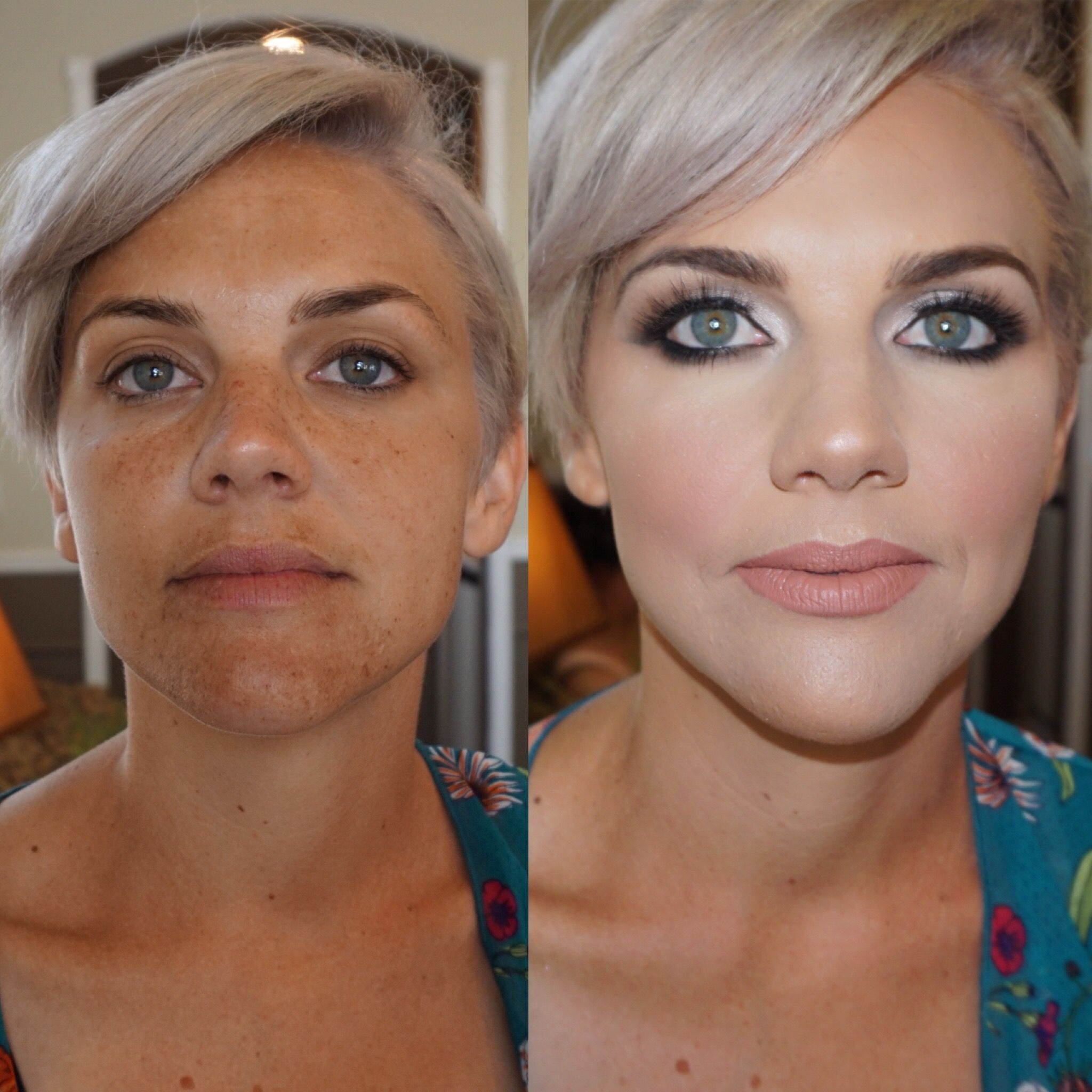Bridesmaid makeup (With images) Makeup lessons, Glam