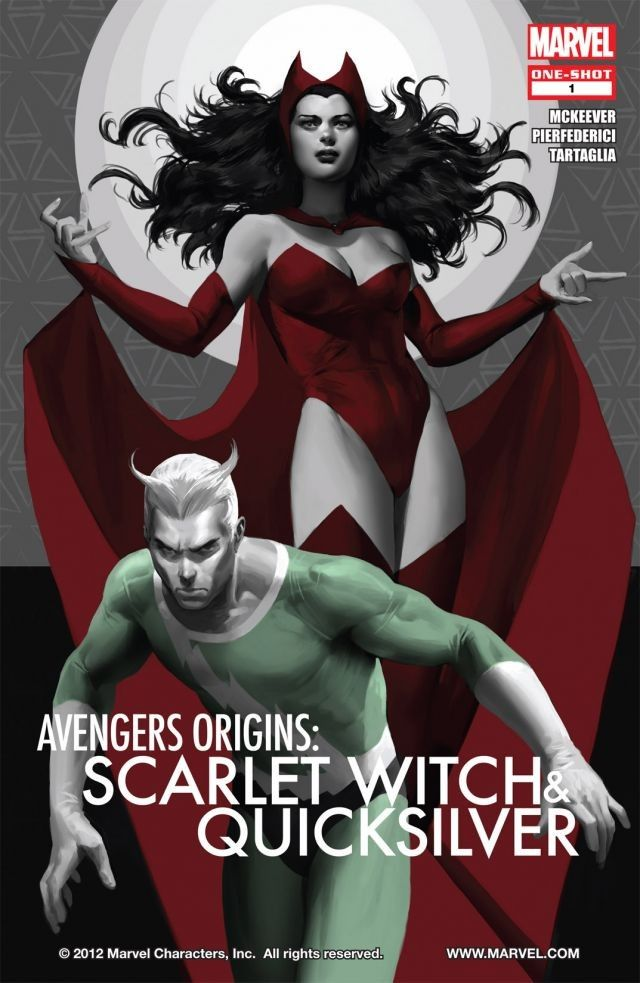 62cb96bf056655 In Avengers Origins  Quicksilver   The Scarlet Witch Marvel are retelling  the origin story of the two mutants who went from members of the  Brotherhood of ...