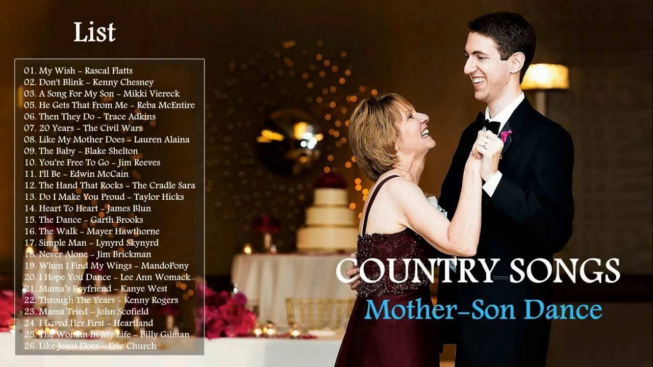 Image result for mother son dance song lists Mother son