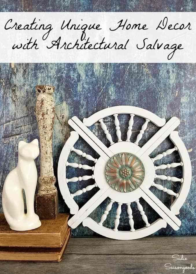 DIY Wall Art from Repurposed Architectural Salvage- Gingerbread Trim ...