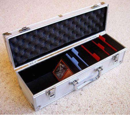 Trading Card Game Metal Storage Deck Box Protector Wow Mtg Yugioh