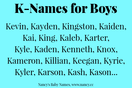 K Names For Baby Boys Unique Baby Boy Names L Baby Names L Names