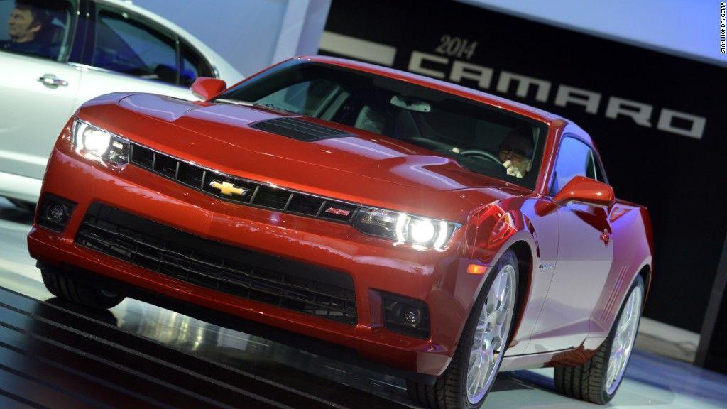 U S Car Sales Set Record Chevrolet Camaro Camaro Most Popular