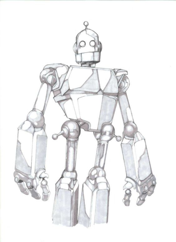 Iron Giant Coloring Page : giant, coloring, Giant, Giant,, Iron,, Giants