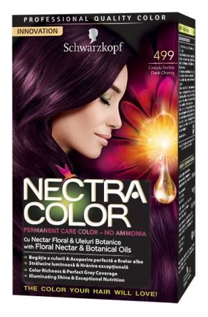 Vopsea De Par Nectra Color 499 Cireasa Neagra With Images
