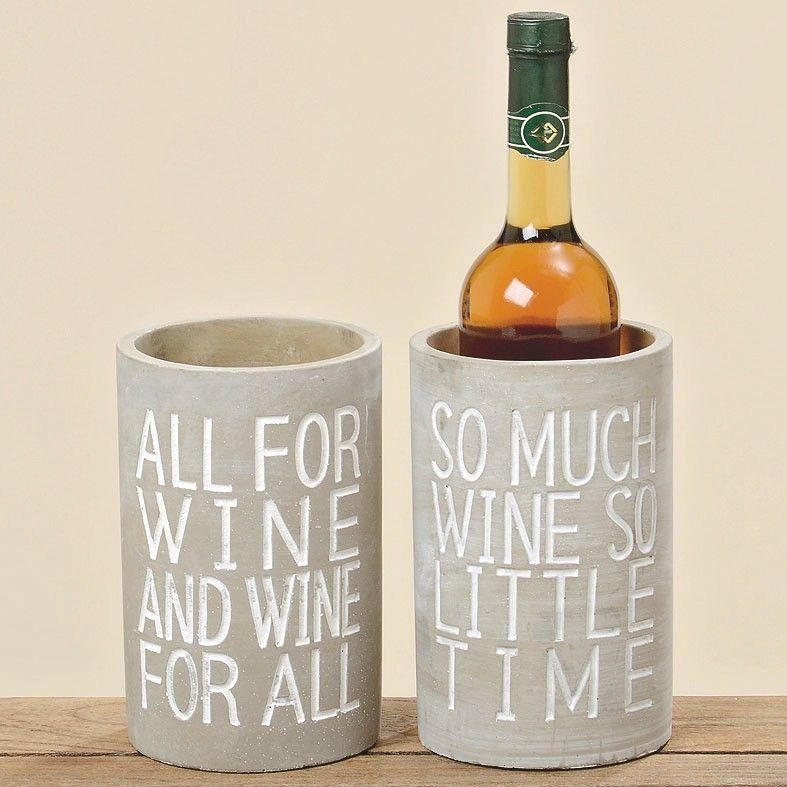 Weinkühler aus Beton by Ideenreich