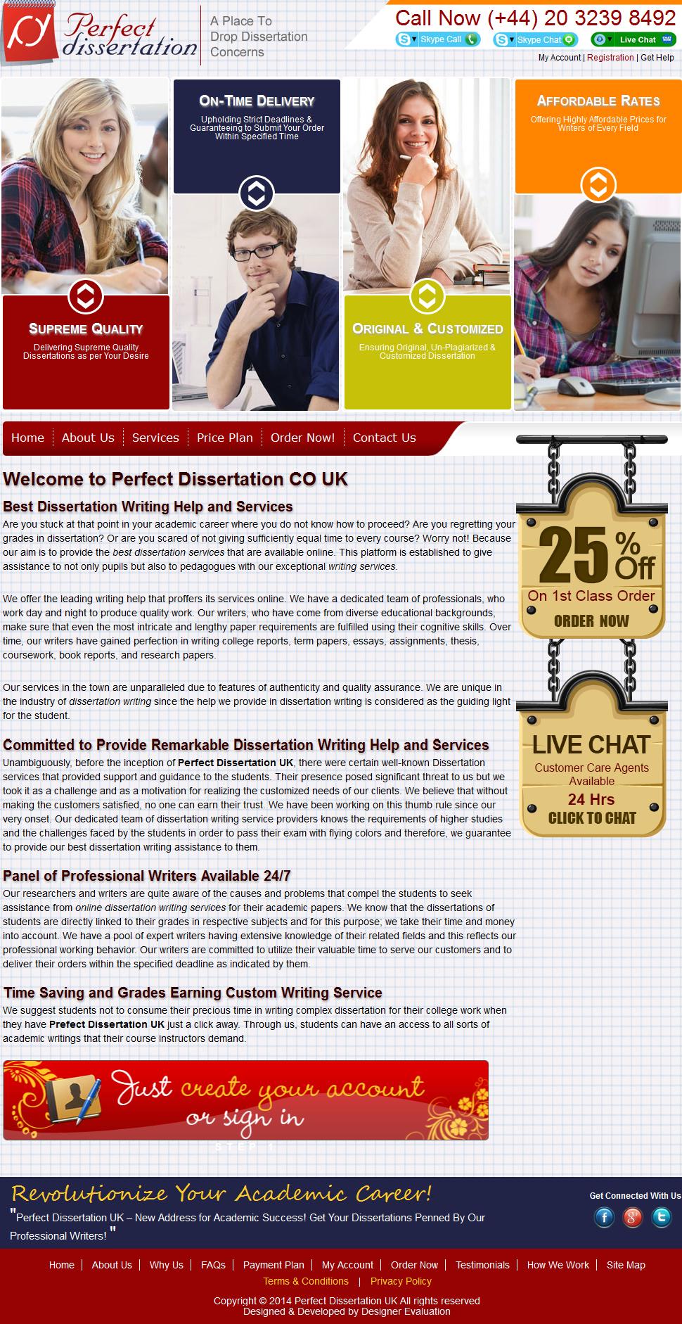 Buy Custom Dissertation Online - UK Writing Service.