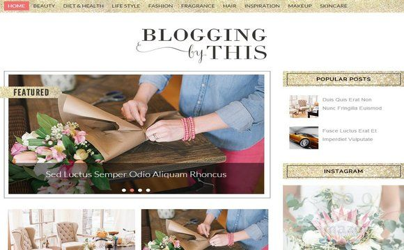 Best Free Blogger Templates   Mas Template   Cute Websites and ...