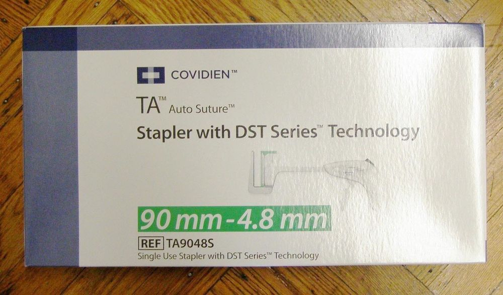 Covidien TA9048S TA Auto Suture Stapler DST Series Technology 90mm-4.8mm IN DATE