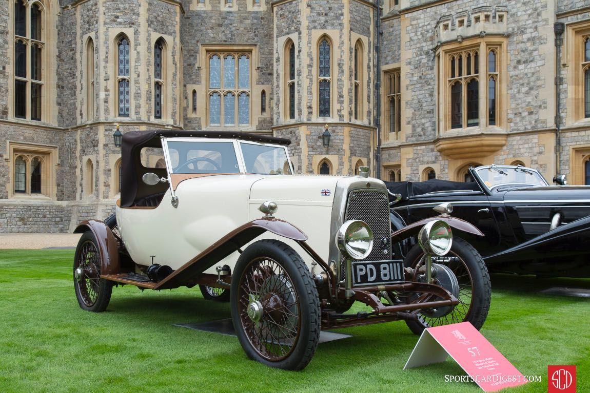 1924 Aston Martin Bamford And Martin Side Valve Boat Tail Tourer