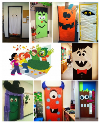 Ideas para decorar tu clase en halloween nuestra puerta for Idee decoration porte halloween