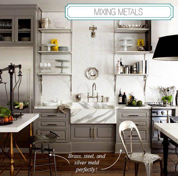 Cocinas glamorosas kitchen Pinterest