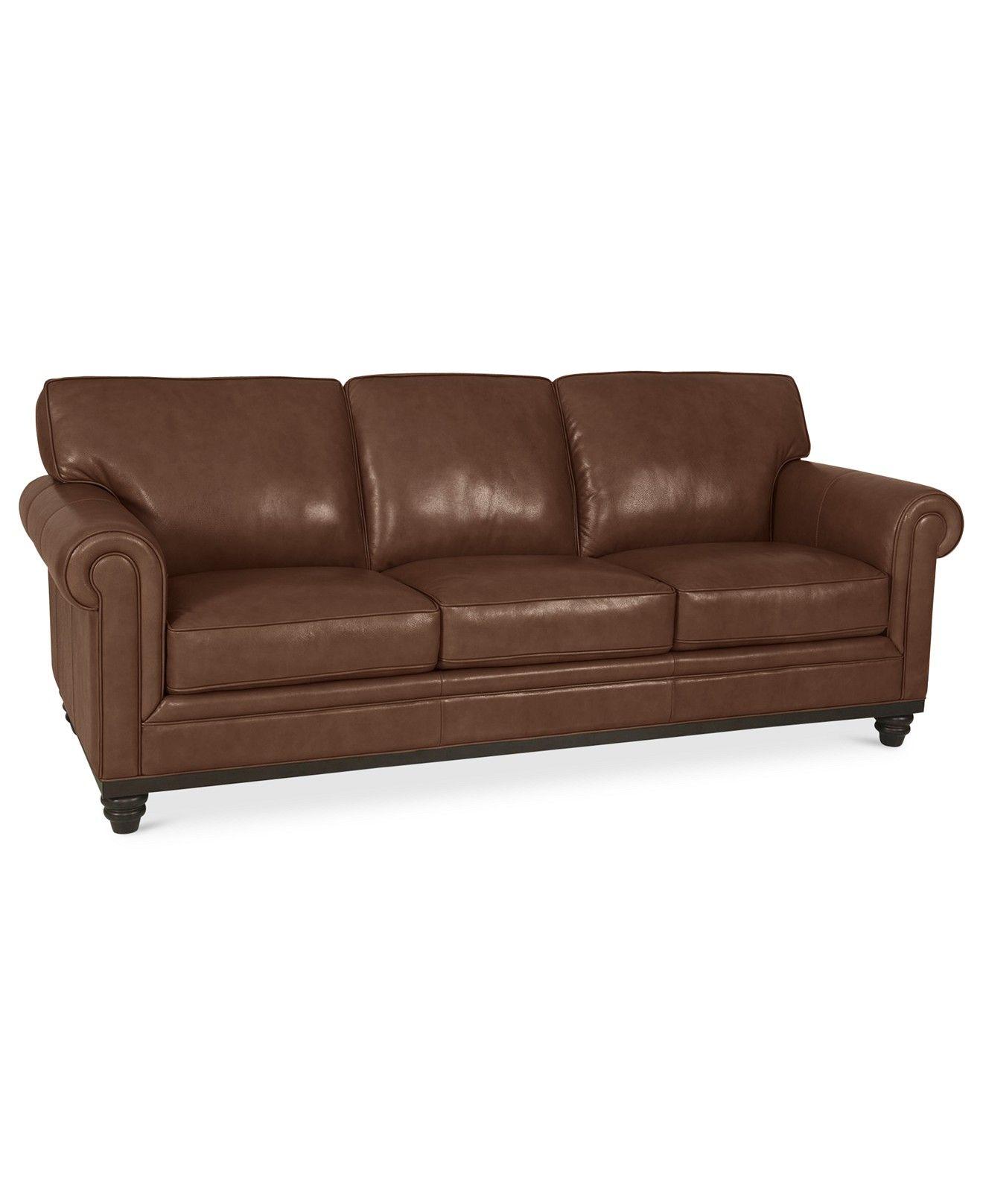 Bon Martha Stewart Collection Bradyn 89 Leather Sofa, Created For Macyu0027s    Couches U0026 Sofas   Furniture   Macyu0027s