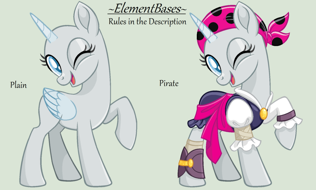 Mlp Base 18 By Elementbases My Little Pony In 2019 Mlp Base Mlp