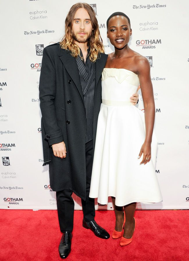 Are they or aren't they?: Lupita Nyong'o & Jared Leto <3