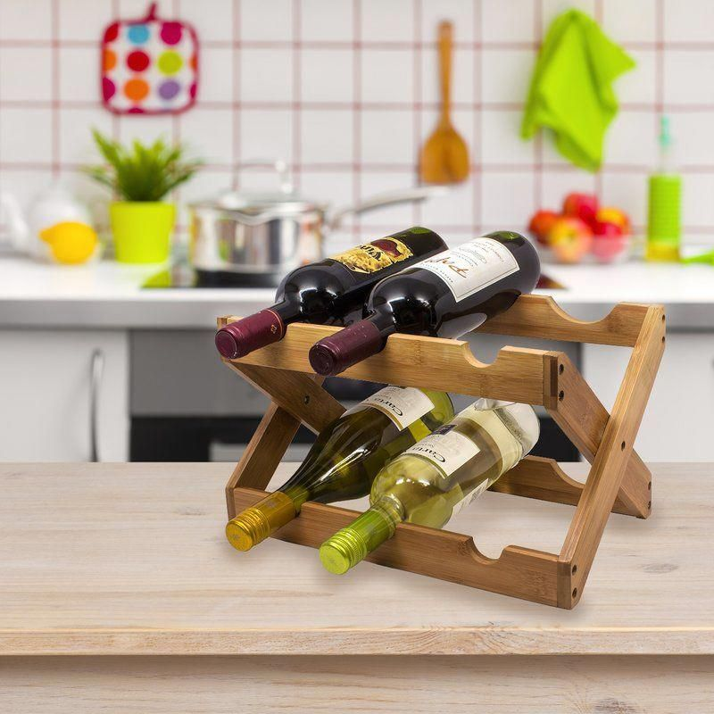 Check A Wide Array Of Violet Shelf Designs Inclusive Of Barrier Attached Wine Phases And Unique Mauve Flask Kee Countertop Wine Rack Wine Rack Wood Wine Racks