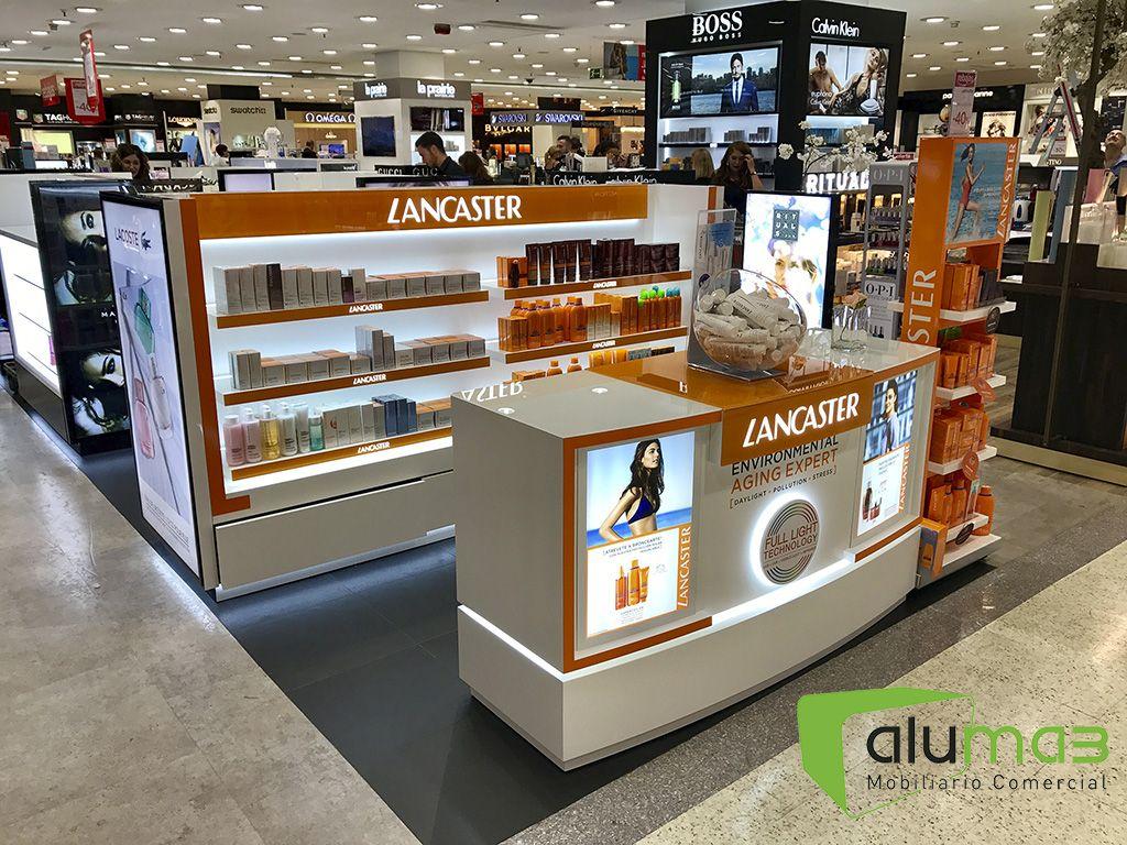 Coty El Corte Ingl S Sevilla Nervi N Aluma3 Retail Design  # Muebles Gucci Santander