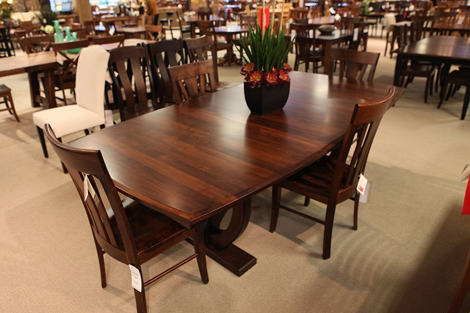 Brown Maple Table Maple Tables Solid Hardwood Dining Table