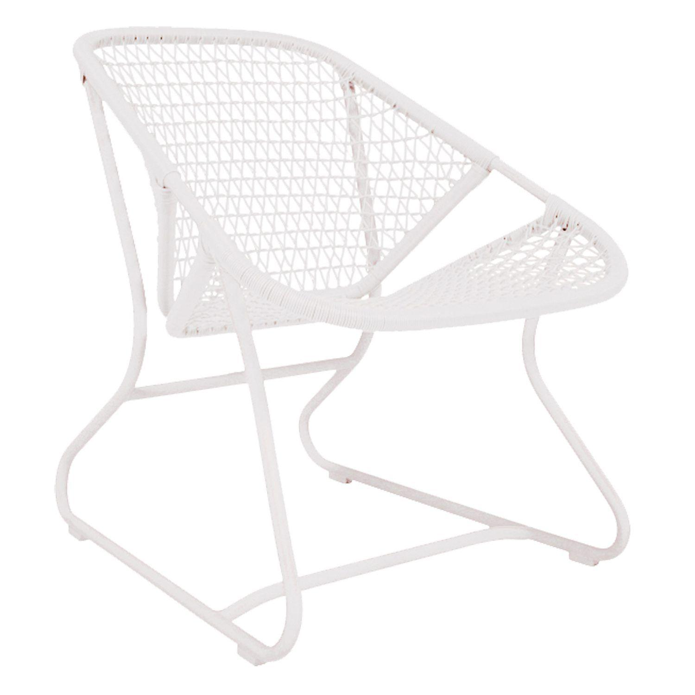 Sixties jakkara, cotton white ryhmässä Puutarhakalusteet / Puutarhakalusteet / Puutarhatuolit @ ROOM21.fi (132702)