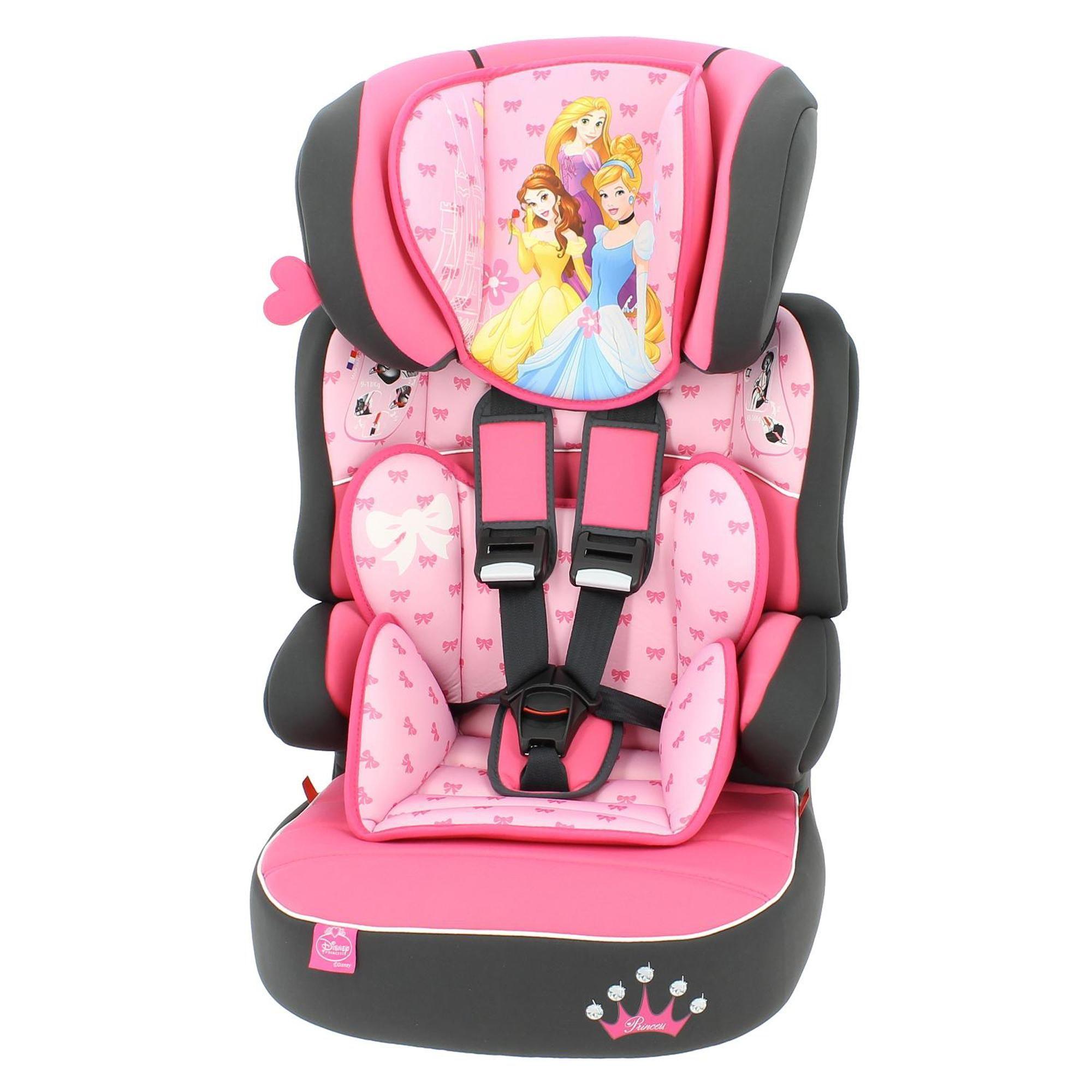 Disney Princess Beline SP LX Group 1 2 3 Car Seat in 2020