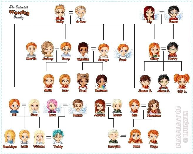 Hp Family Tree Harry Potter Family Tree Harry Potter Characters Harry Potter Collection