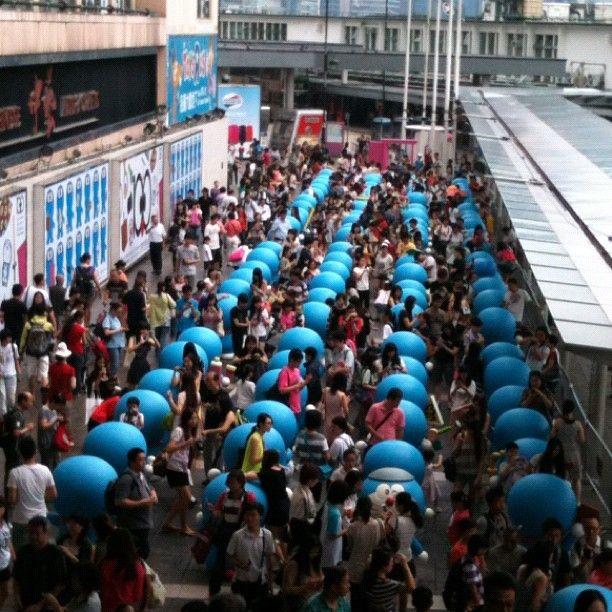 #hongkong #kowloon #tsimshatsui #oceanterminal #doraemon #香港 #九龍 #尖沙咀 #海運大廈 #叮噹 #多啦A夢 - @borkee3- #webstagram