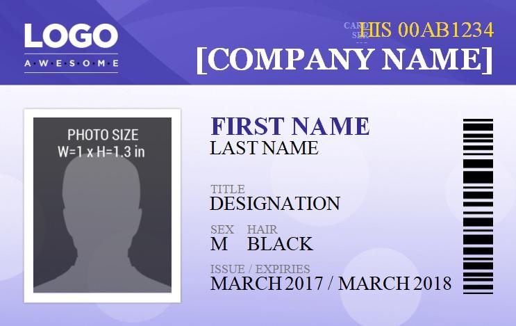 Id Badge Templates 14 Free Printable Word Pdf Excel Formats Badge Template Name Badge Template Free Printable Business Cards