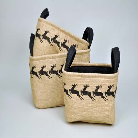 Decorate Your Home For The Holidays With One Of Our Natural Jute Storage  Basket Sets.