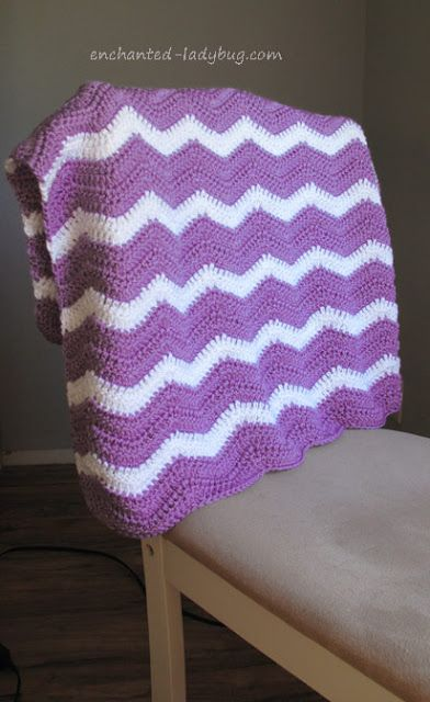 Free Ripple Baby Blanket Crochet Pattern Free Crochet Patterns