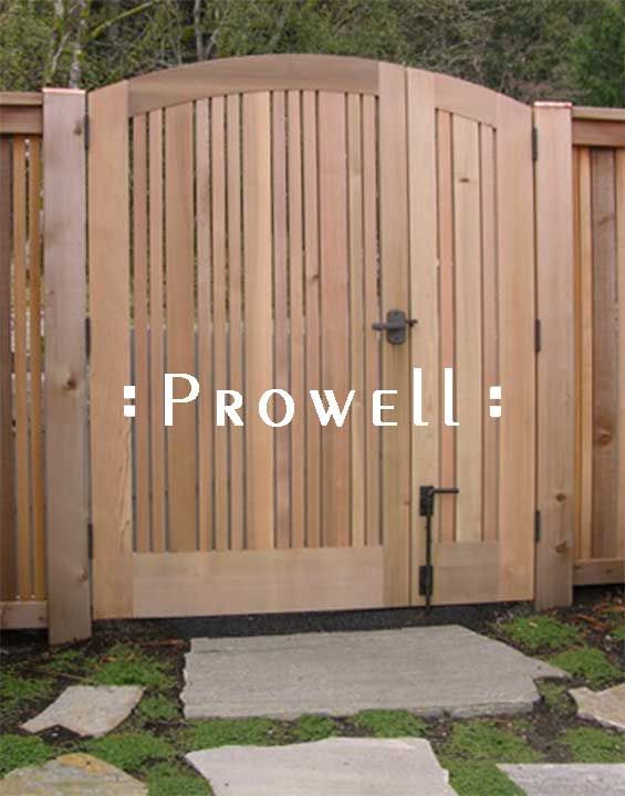 double fence gate. Wood Garden Gates By Prowell Woodworks #113 Double Fence Gate