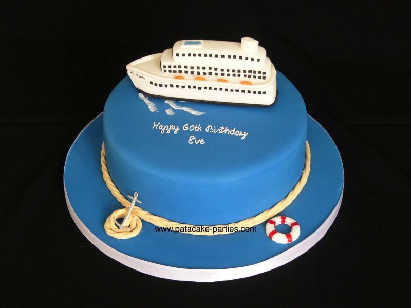 CruiseShipCakescakepinscom Cakes Pinterest Cruise ships
