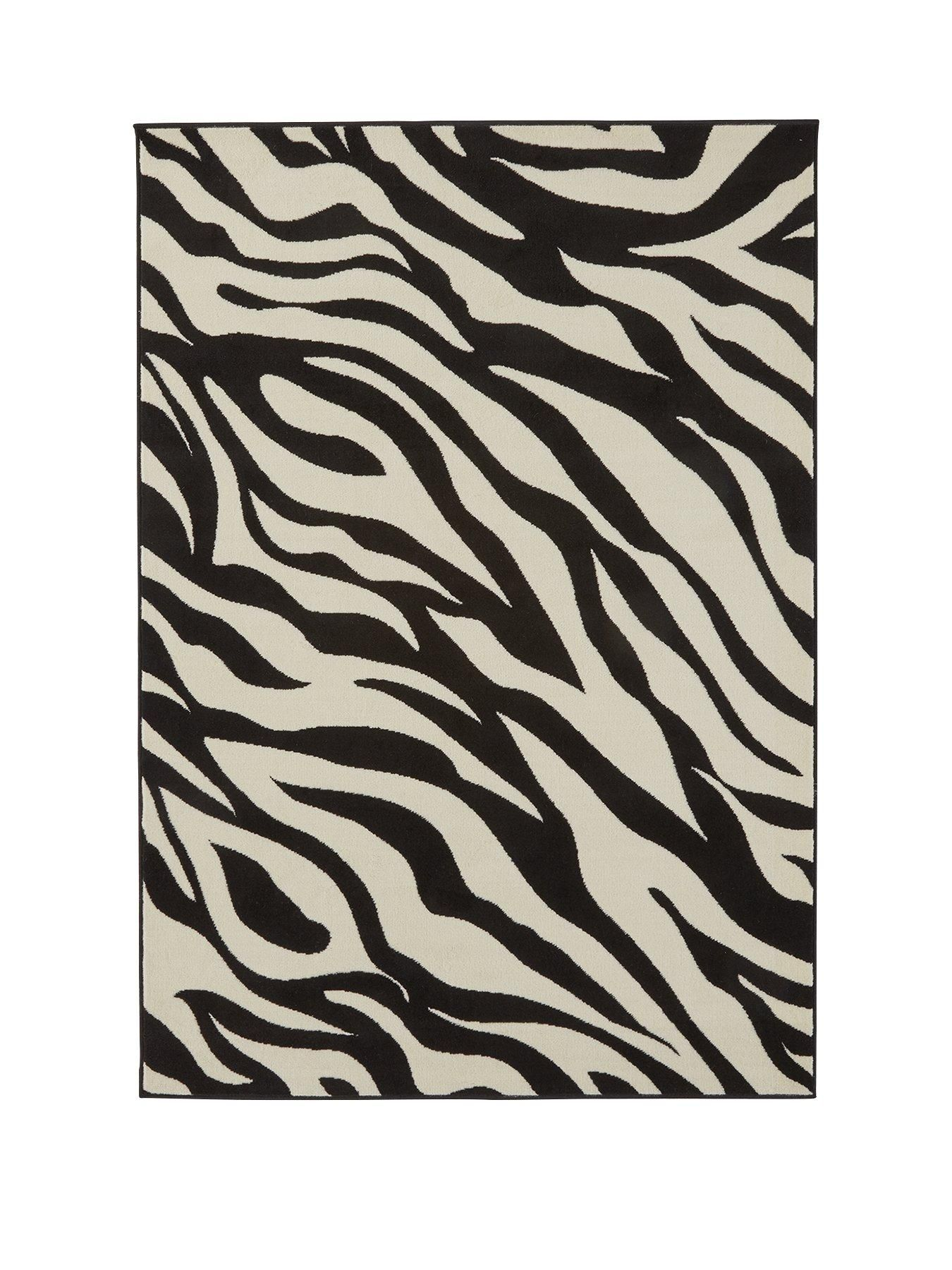 Zebra Print Rug With Images