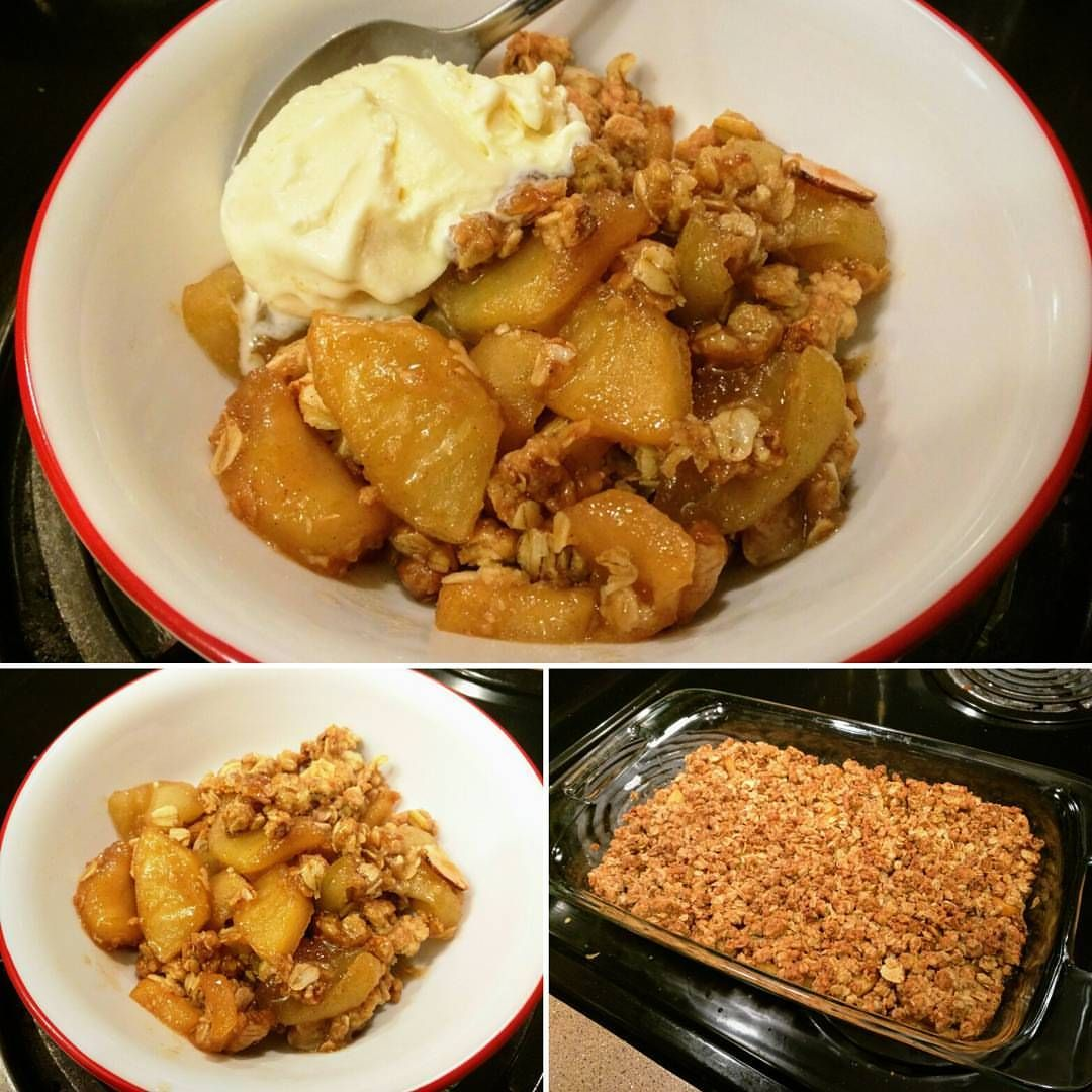 Apple Crisp Crumble Topping 1 2 Cup Melted Butter 1 2 Cup