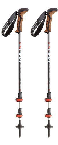 Leki Corklite Trekking Pole (Black) by Leki. $114.99. No matter if you're going up or down the mountain, the 'Corklite' is a stable and reliable partner. This trekking pole model made from aluminum is an absolute lightweight. In addition, the new innovative external adjustment system Speed Lock provides convenient length adjustment in every weather. The Aergon CorTec compact grip makes for the highest level of comfort.