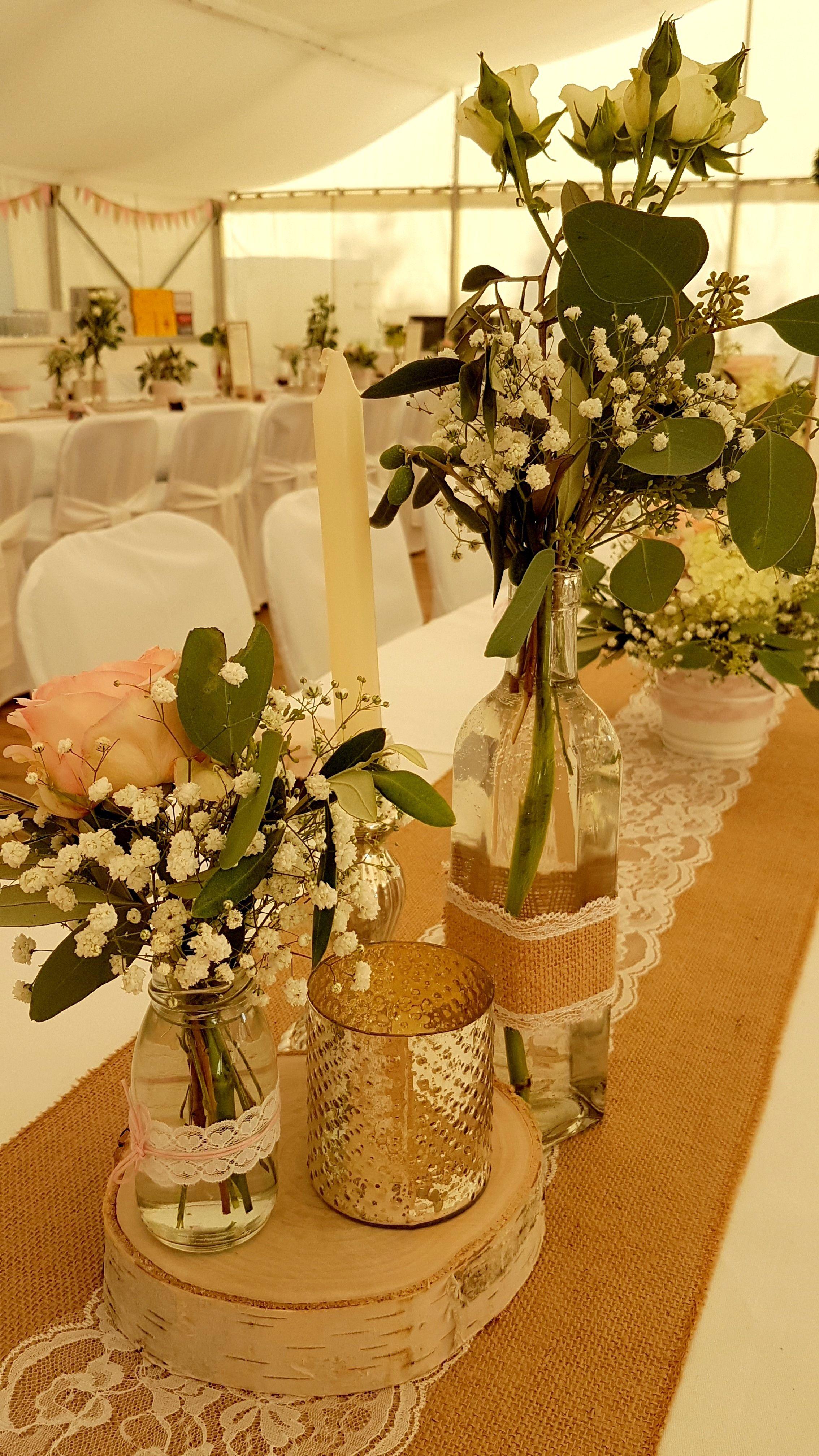 Wedding Wedding Table Table Decoration Heart Peasant Silver Rose White Ju Wedding In 2020 Hochzeit Tisch Ideen Dekoration Hochzeit Hochzeitsdeko