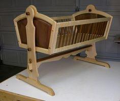 Maple Walnut Heirloom Baby Cradle Baby Cradle Pinterest Baby