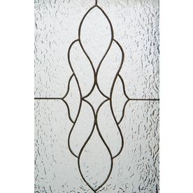 GILA W X L Frosted Lasalle Privacy Decorative Static Cling Window Film At Lowes Increase The Of Your Home With GilaR LaSalle Sidelights
