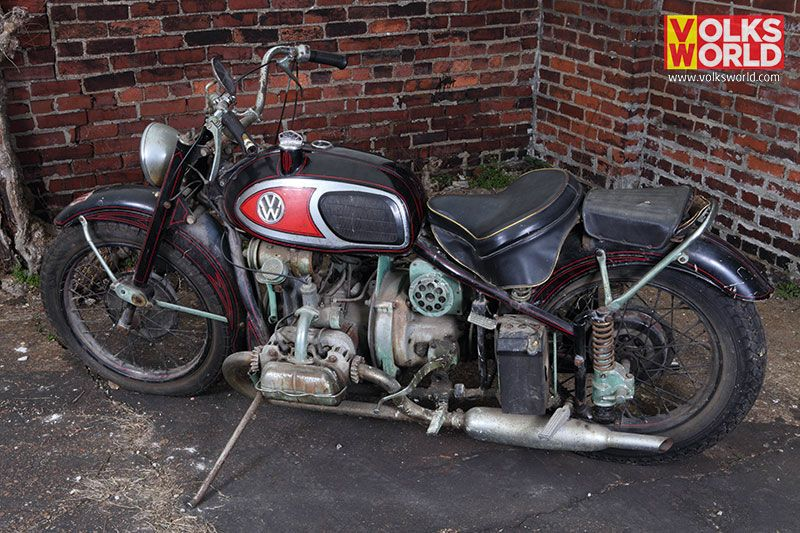 1966 Xavw Von Dutch Rat Motorcycle With A Vw Engine Found By Mike