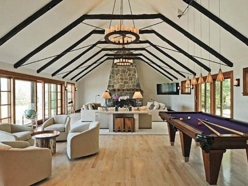 outstanding billiard room design 01