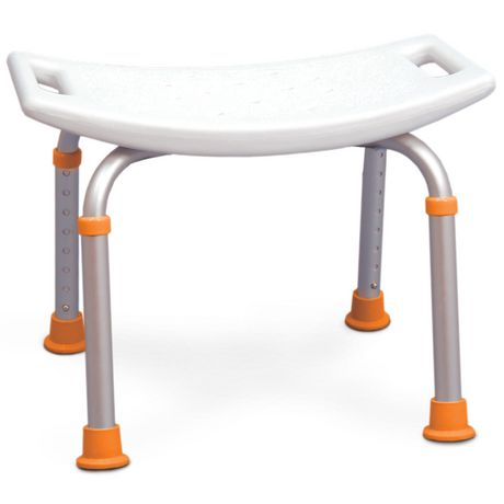 Profilio Adjustable Bath And Shower Chair With Non Slip Seat